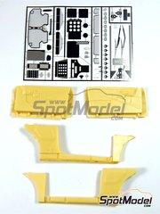 Renaissance Models: Transkit escala 1/24 - Subaru Impreza WRC - piezas de resina y fotograbados