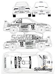 Renaissance Models: Marking / livery 1/24 scale - Subaru Impreza WRC Katastrof #10 - Patrick Snijers (BE) + Luc Dethier (BE) - Ypres Rally 2001 - water slide decals and assembly instructions - for Tamiya reference TAM24218