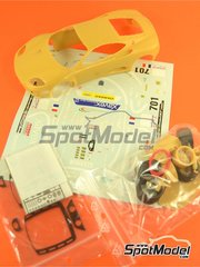Renaissance Models: Marking / livery 1/24 scale - Ferrari 360 Modena JMB Racing #70, 71 - 24 Hours Le Mans 2002 - photo-etched parts, resin parts, water slide decals, other materials and assembly instructions - for Tamiya kits TAM24228 and TAM24298