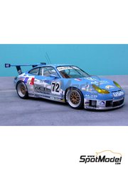 Renaissance Models: Marking / livery 1/24 scale - Porsche 911 GT3 RS #72 - water slide decals and assembly instructions