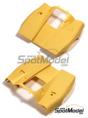 Renaissance Models: Transkit escala 1/24 - Porsche 917K capot - resina - para las referencias de Fujimi FJ12173, 12173, HR-5, FJ12188, 12188, FJ12198, 12198, FJ12199, 12199, FJ12236, 12236, FJ12261, 12261, FJ123592, FJ123882, 123882, RS-84, FJ126074, 126074, FJ126135, 126135, 12613, RS-4, FJ126142, 126142, 12614, RS-88, FJ126166, 126166, 12616 y RS-98