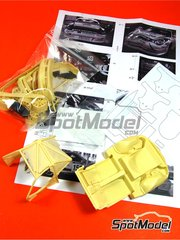 Renaissance Models: Transkit 1/24 scale - Porsche 911 GT3 Challenge - Conversion set - resins