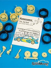 Renaissance Models: Tarmac conversion set 1/24 scale - Subaru Impreza WRC S12 - resins - for Tamiya reference TAM24276