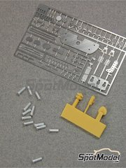 Renaissance Models: Detail up set 1/24 scale - Ferrari 512S - photo-etched parts, resin parts, turned metal parts and assembly instructions - for Fujimi references FJ12385 and FJ123851