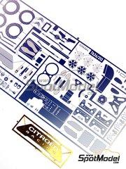 Renaissance Models: Photo-etched parts 1/24 scale - Citroen C4 WRC - for Heller kit 80756