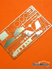 Renaissance Models: Photo-etched parts 1/24 scale - Renault 8 Gordini - for Wave, Heller, Union kits