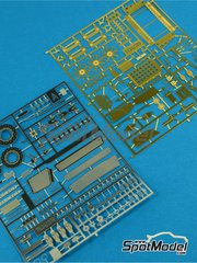 Renaissance Models: Detail up set 1/24 scale - Peugeot 405 Turbo 16 - photo-etched parts and assembly instructions - for Tamiya kit TAM24092 image