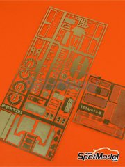 Renaissance Models: Photo-etched parts 1/24 scale - Lancia Super Delta Deltona HF Integrale - for Hasegawa kit 25015