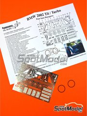 Renaissance Models: Detail up set 1/24 scale - BMW 2002 Tii / Turbo - photo-etched parts, resin parts and assembly instructions - for Hasegawa references 20332, 21123 and 21124