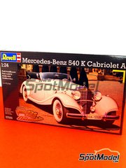 Revell: Model car kit 1/24 scale - Mercedes Benz 540 K Cabrio - plastic model kit