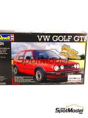 Revell: Model car kit 1/24 scale - Volkswagen Golf II GTI 1986 - plastic model kit