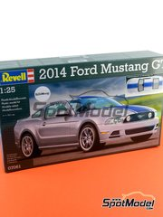 Revell: Model car kit 1/25 scale - Ford Mustang GT 2014 - plastic model kit image