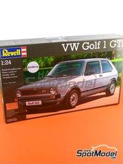 Revell: Maqueta de coche escala 1/24 - Volkswagen Golf I GTI - maqueta de plástico