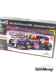 Revell: Model car kit 1/24 scale - RB Racing Renault RB8 Total #1 - Sebastian Vettel (DE) - World Championship 2012