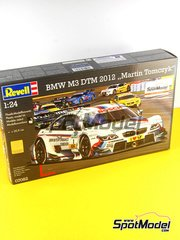 Revell: Model car kit 1/24 scale - BMW M3 Deustche Post #1 - Martin Tomczyk (DE) - DTM 2012 - plastic model kit image