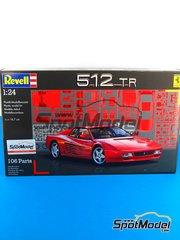 Revell: Maqueta de coche escala 1/24 - Ferrari 512 TR - maqueta de plástico