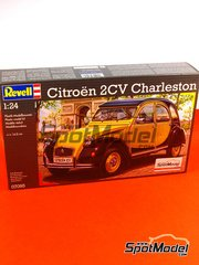 Revell: Model car kit 1/24 scale - Citroen 2CV Charleston - plastic model kit