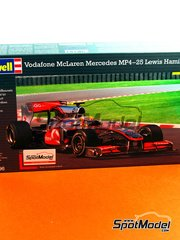 Revell: Model car kit 1/24 scale - McLaren MP4/25 Vodafone #2 - Lewis Hamilton (GB) - World Championship 2010 - plastic model kit