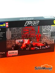 Revell: Model car kit 1/24 scale - Ferrari F10 Banco Santander #7, 8 - Fernando Alonso (ES), Felipe Massa (BR) 2010 - plastic model kit