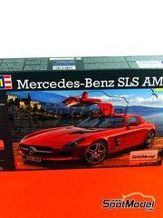 Revell: Maqueta de coche escala 1/24 - Mercedes-Benz SLS AMG - maqueta de plástico
