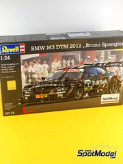 Revell: Model car kit 1/24 scale - BMW M3 BMW Bank #7 - Bruno Spengler (CA) - DTM 2012 - plastic model kit image