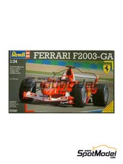 Revell: Model car kit 1/24 scale - Ferrari F2003-GA
