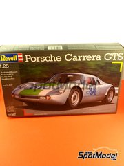 Revell: Model car kit 1/24 scale - Porsche 904 Carrera GTS #27, 86 - 24 Hours Le Mans, Targa Florio 1964 - plastic kit