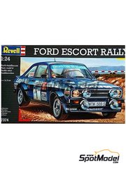 Revell: Model car kit 1/24 scale - Ford Escort Mk. II RS1800
