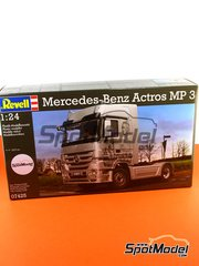 Revell: Model truck kit 1/24 scale - Mercedes-Benz Actros MP3 - plastic model kit