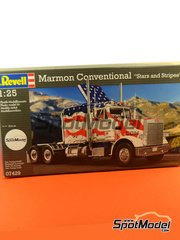 Revell: Model truck kit 1/25 scale - Marmon Conventional - plastic model kit image