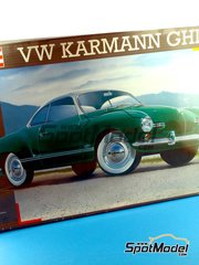 Revell: Model car kit 1/16 scale - Volkswagen Karmann Ghia Coupe - plastic model kit image