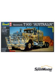 Revell: Model truck kit 1/25 scale - Kenworth T900