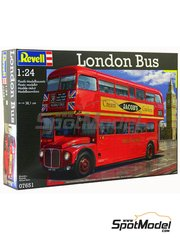 Revell: Model truck kit 1/24 scale - London Routermaster bus - plastic model kit