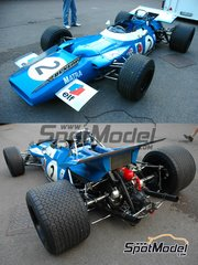 SMTS: Model car kit 1/43 scale - Matra Ford MS80 ELF #2, 3, 5, 7 - Sir John Young 'Jackie' Stewart (GB), Jean-Pierre Beltoise (FR) - World Championship 1969 - resin multimaterial kit
