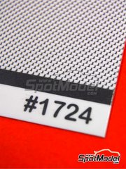 Scale Motorsport: Decals - Carbon Fiber Clear Pewter Metallic Weave