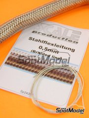 Scale Production: Pipe - Braided line - 0,5mm - other materials