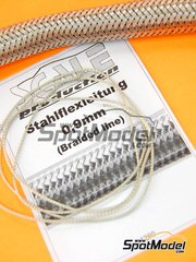 Scale Production: Detail - Braided line - 0,9mm