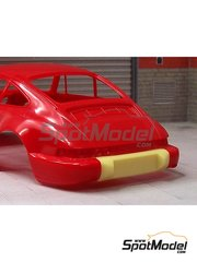 Scale Production: Transkit 1/24 scale - Porsche 964 RS bumper - resin parts - for Fujimi references FJ123110 and FJ123431