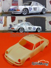 Scale Production: Transkit 1/24 scale - Porsche 911 RSR - Decals NOT included 1973 - resins, photo-etched parts and … - for Fujimi kits image