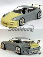 Scale Production: Transkit 1/24 scale - Porsche 911 997 GT3R Hybrid 2011 - resins, photo-etched parts, decals and … - for Fujimi reference FJ123905 image