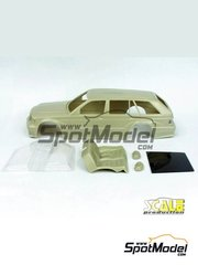 Scale Production: Transkit 1/24 scale - MercedesBenz 190 Evo2-T - resin parts and vacuum formed parts - for Fujimi kit
