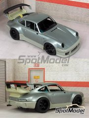 Scale Production: Transkit 1/24 scale - Porsche 911 930 Turbo RWB - resin parts - for Tamiya references TAM24279 and 24279