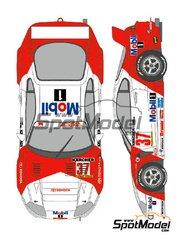 Shunko Models: Marking 1/24 scale - Toyota Supra GT Marlboro Tom's #36, 37 - Yannick Dalmas (FR) + Jyrki Juhani 'JJ Lehto' Jarvilehto (FI), Phillippe Alliot (FR) + Pierre-Henri Raphanel (FR) - 3 Hours Zhuhai 1995 - for Tamiya kit TAM24163