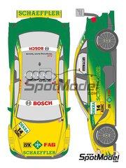Shunko Models: Marking 1/24 scale - Audi A4 Schaeffler #14 - Martin Tomczyk (DE) - DTM 2011 - for Revell kits REV0719, REV07177