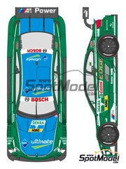 Shunko Models: Marking / livery 1/24 scale - BMW M3 Castrol #7 - Augusto Farfus (BR) - DTM 2013 - water slide decals and assembly instructions - for Revell references REV07082 and REV07178 image