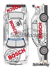 Shunko Models: Marking 1/24 scale - Alfa Romeo 155 V6 TI Bosch #19 - Jason Watt (DK) - DTM 1996 - for Tamiya kits