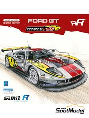 SimilR: Model car kit 1/24 scale - Ford GT40 GT1 Marc VDS #40, 41 - Maxime Martin (BE) + Frédéric 'Mako' Makowiecki (FR), Bas Leinders (BE) + Marc Hennerici (DE) - 24 Hours Le Mans 2011 - plastic model kit
