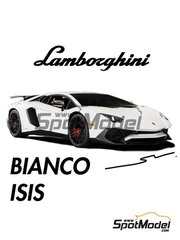 Splash Paints: Paint - Lamborghini Bianco Isis