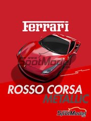 Splash Paints: Pintura - Ferrari Rosso Corsa Metalizado