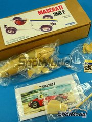 SpotModel: Model car kit 1/24 scale - Fiotti Modelos - Maserati 250F #16 1957 image